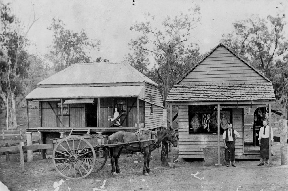 StateLibQld_1_45819_Butcher's_shop_and_residence_at_Caboolture,_Queensland,_ca._1895